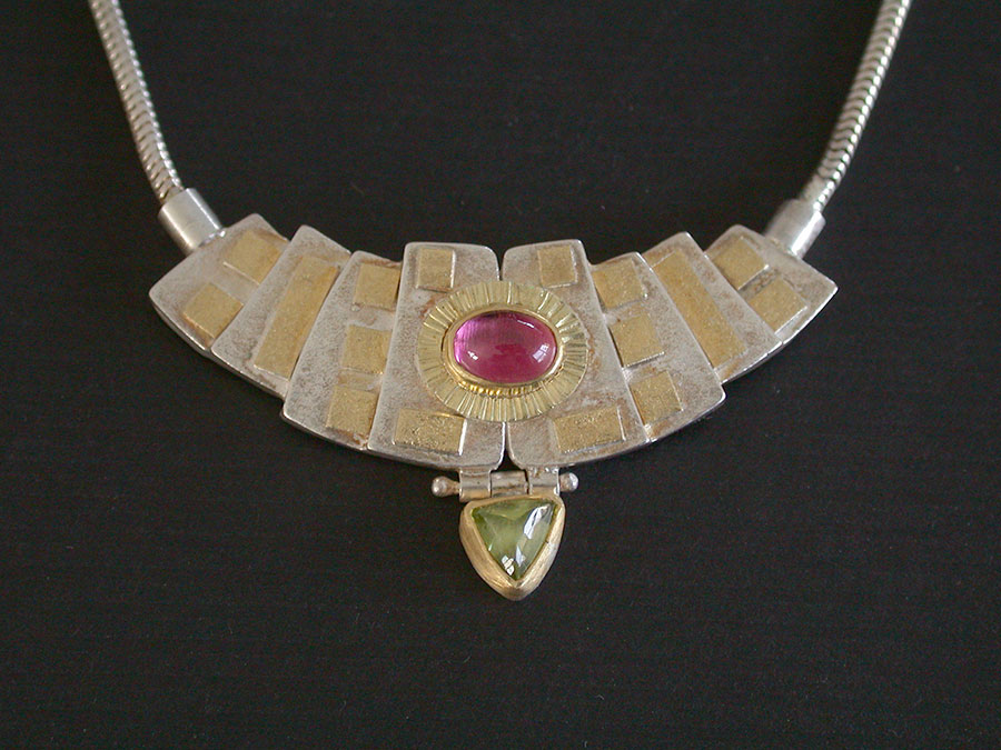 Anne Besse Shepherd: Tourmaline & Peridot Necklace | Rendezvous Gallery