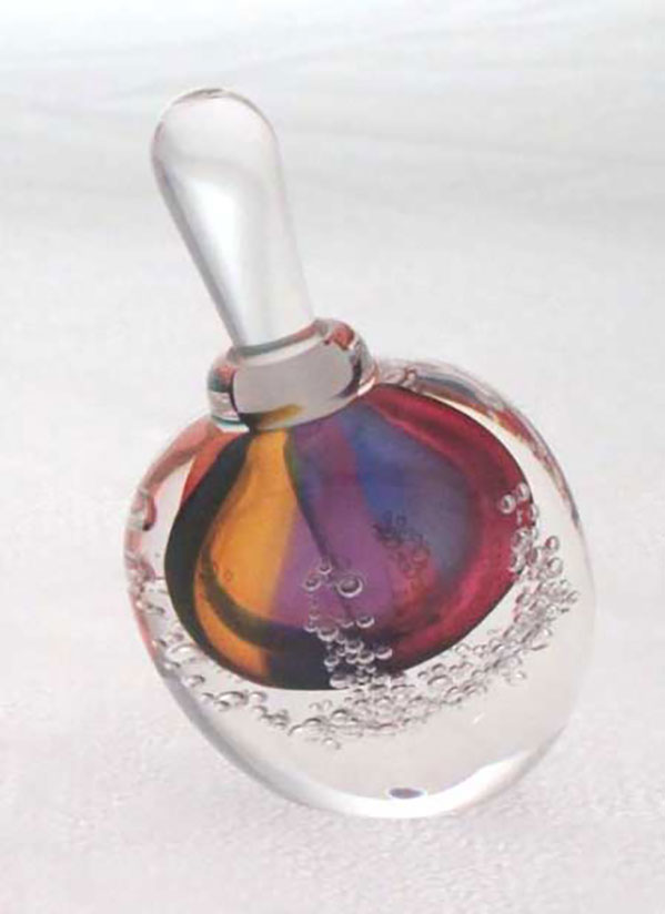 Mini Angled Perfume by Blodgett Glass | Rendezvous Gallery