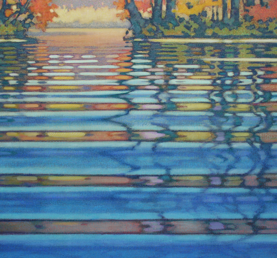 Featured Artist: Jack Brumbaugh - Waterscape Paintings | Rendezvous Gallery