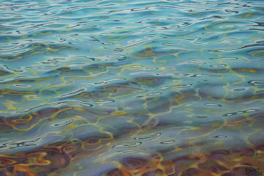Jack Brumbaugh: The Lake in June | Rendezvous Gallery