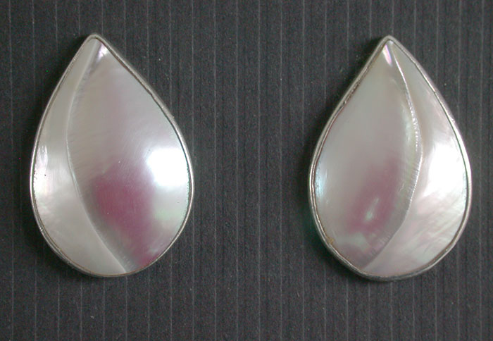 Amy Kahn Russell: Freshwater Pearl Clip Earrings | Rendezvous Gallery