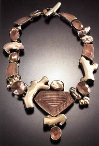 Amy Kahn Russell creates stunning statement jewelry | Rendezvous Gallery