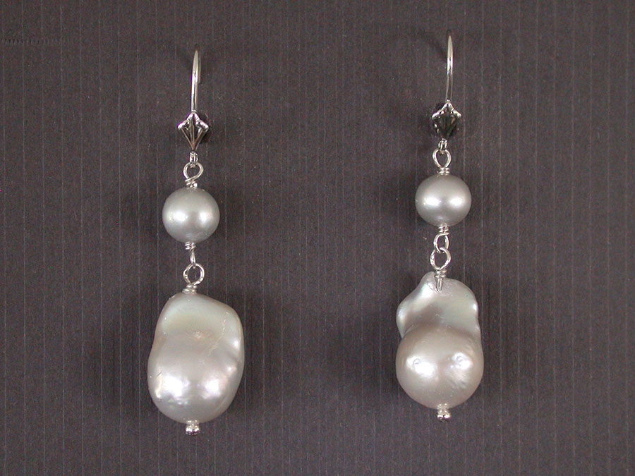 Amy Kahn Russell Online Trunk Show: Freshwater Pearl Earrings | Rendezvous Gallery