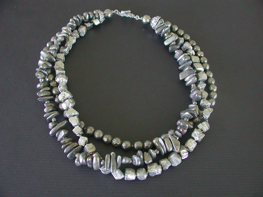 Amy Kahn Russell Online Trunk Show: Chalco Pyrite Necklace | Rendezvous Gallery