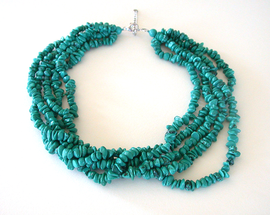 Amy Kahn Russell Online Trunk Show: Turquoise Necklace | Rendezvous Gallery