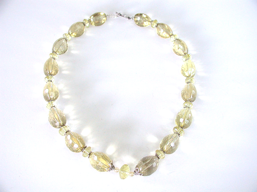 Amy Kahn Russell Online Trunk Show: Lemon Citrine Necklace | Rendezvous Gallery