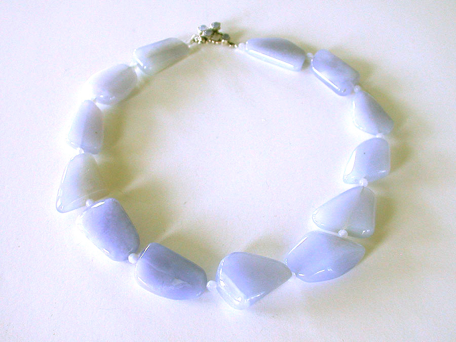 Amy Kahn Russell Online Trunk Show: Chalcedony Necklace | Rendezvous Gallery