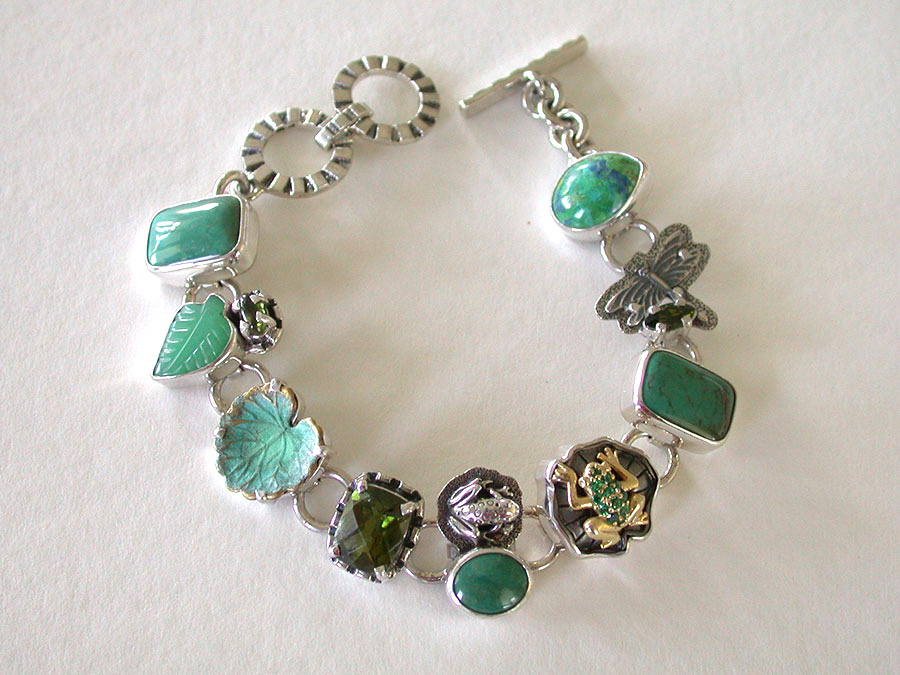 Amy kahn russell online jewelry trunk show jardin for Jardin francais jewelry