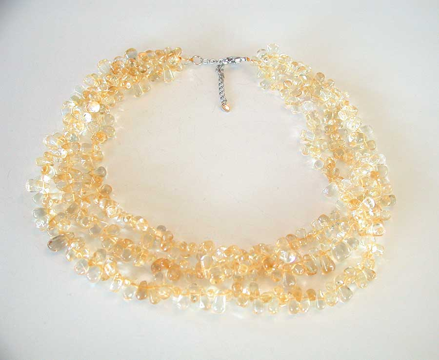 Amy Kahn Russell Online Trunk Show: Citrine Necklace | Rendezvous Gallery