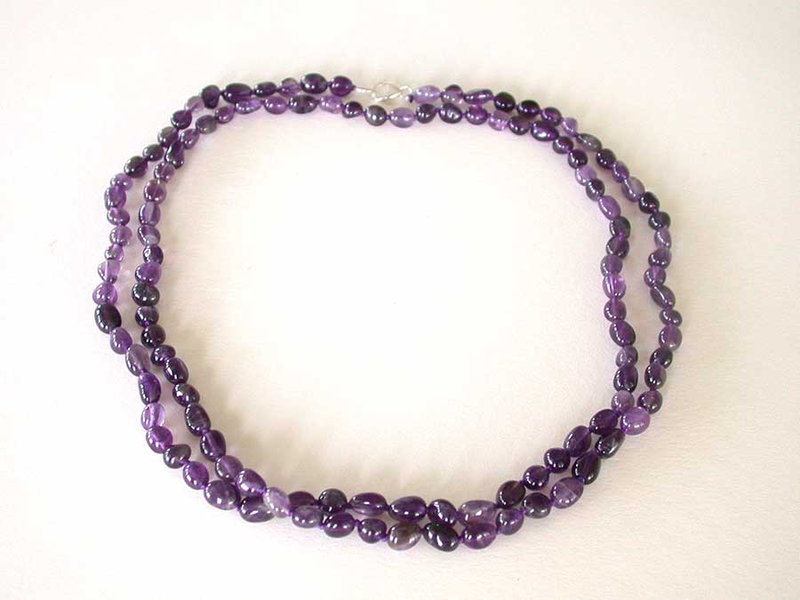Amy Kahn Russell Online Trunk Show: Amethyst Necklace | Rendezvous Gallery