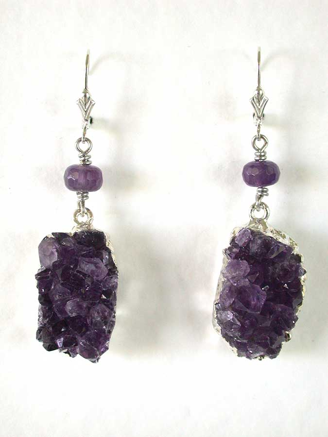 Amy Kahn Russell Online Trunk Show: Amethyst Earrings | Rendezvous Gallery
