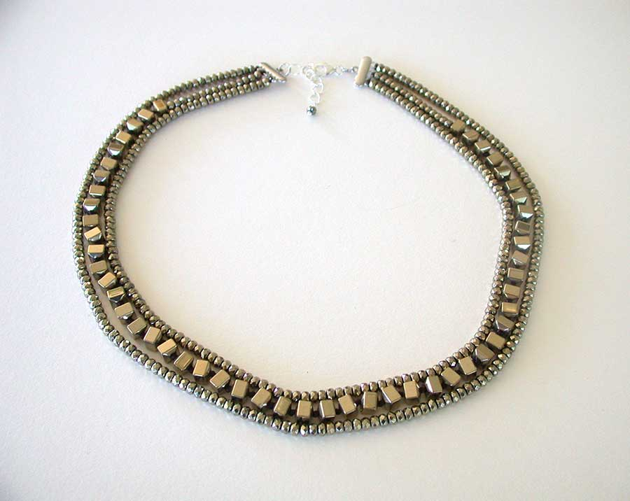 Amy Kahn Russell Online Trunk Show: Clad Hematite Necklace | Rendezvous Gallery