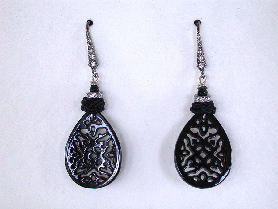 Amy Kahn Russell Online Trunk Show: Black Onyx Earrings | Rendezvous Gallery