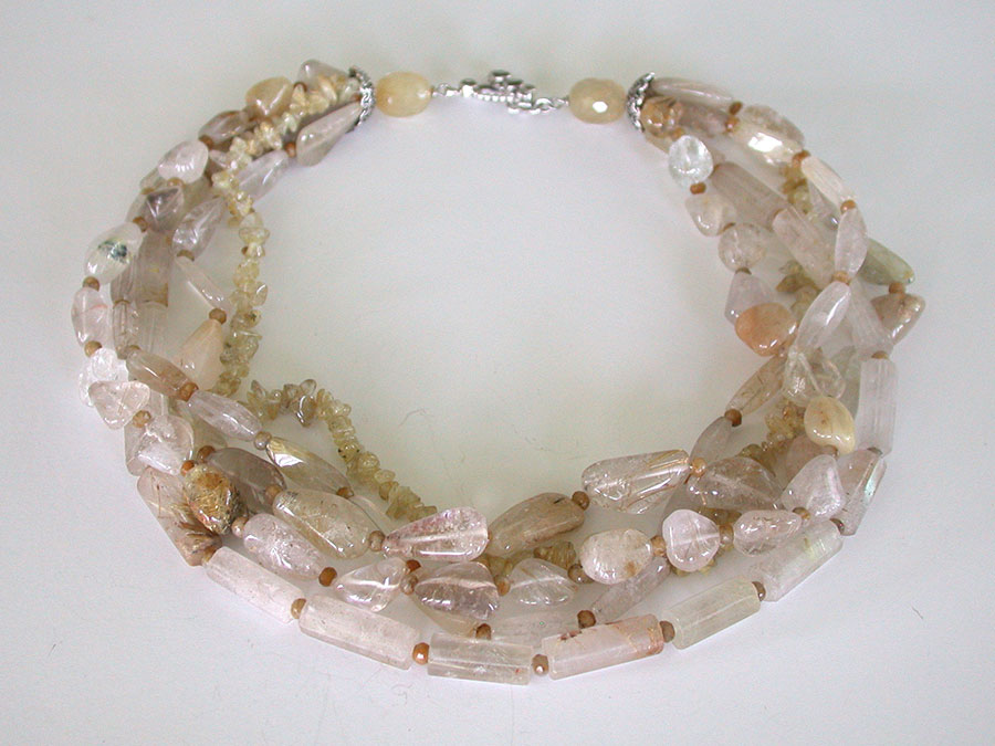 Amy Kahn Russell Online Trunk Show: Rutilated Quartz Necklace | Rendezvous Gallery