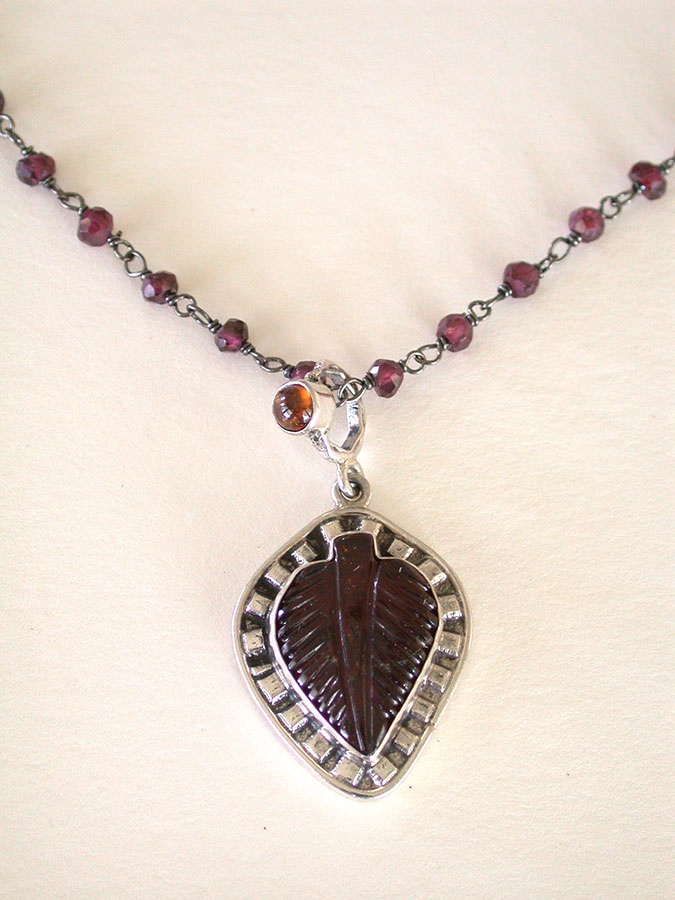 Amy Kahn Russell Online Trunk Show: Garnet Necklace | Rendezvous Gallery