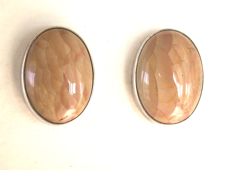Amy Kahn Russell Online Trunk Show: Jasper Clip Earrings | Rendezvous Gallery