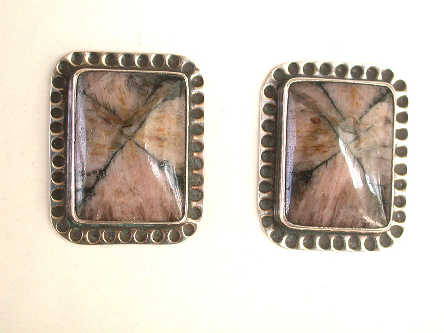Amy Kahn Russell Online Trunk Show: Andelusite Clip Earrings | Rendezvous Gallery
