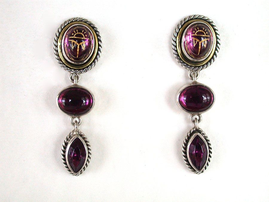 Amy Kahn Russell Online Trunk Show: Tourmaline Post Earrings | Rendezvous Gallery