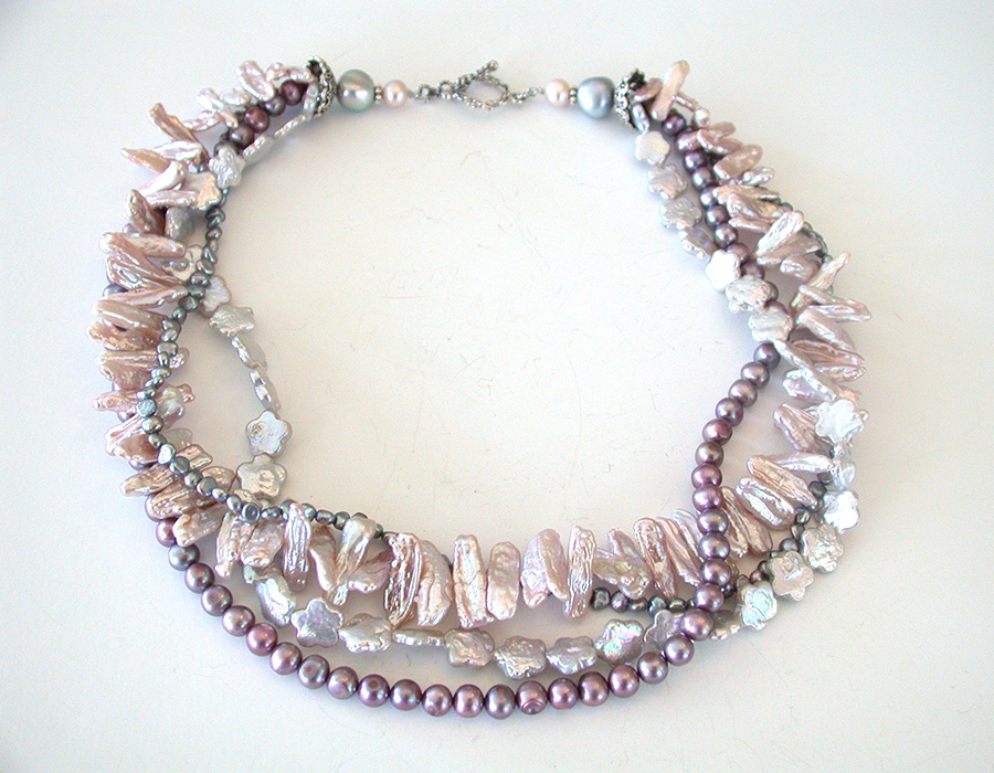 Amy Kahn Russell Online Trunk Show: Freshwater Pearl Necklace | Rendezvous Gallery