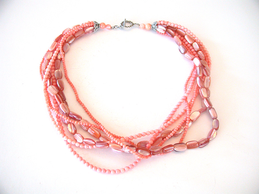 Amy Kahn Russell Online Trunk Show: Natural Shell & Coral Necklace | Rendezvous Gallery
