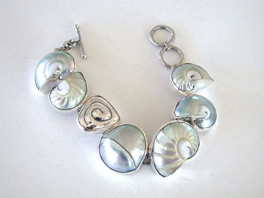 Amy Kahn Russell Online Trunk Show: Nautilus Shell Bracelet | Rendezvous Gallery
