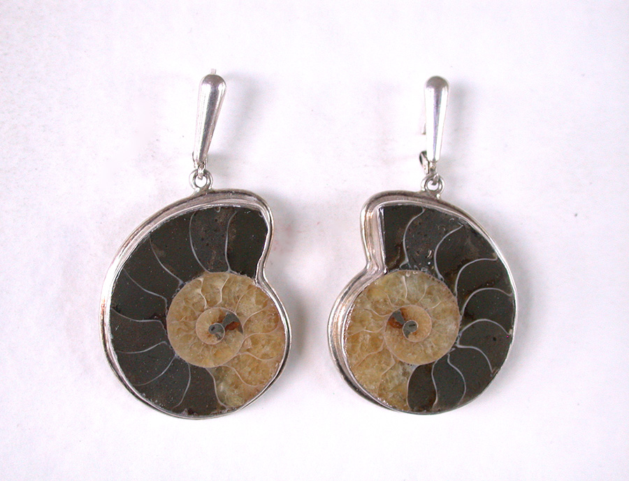 Amy Kahn Russell Online Trunk Show: Ammonite Earrings | Rendezvous Gallery