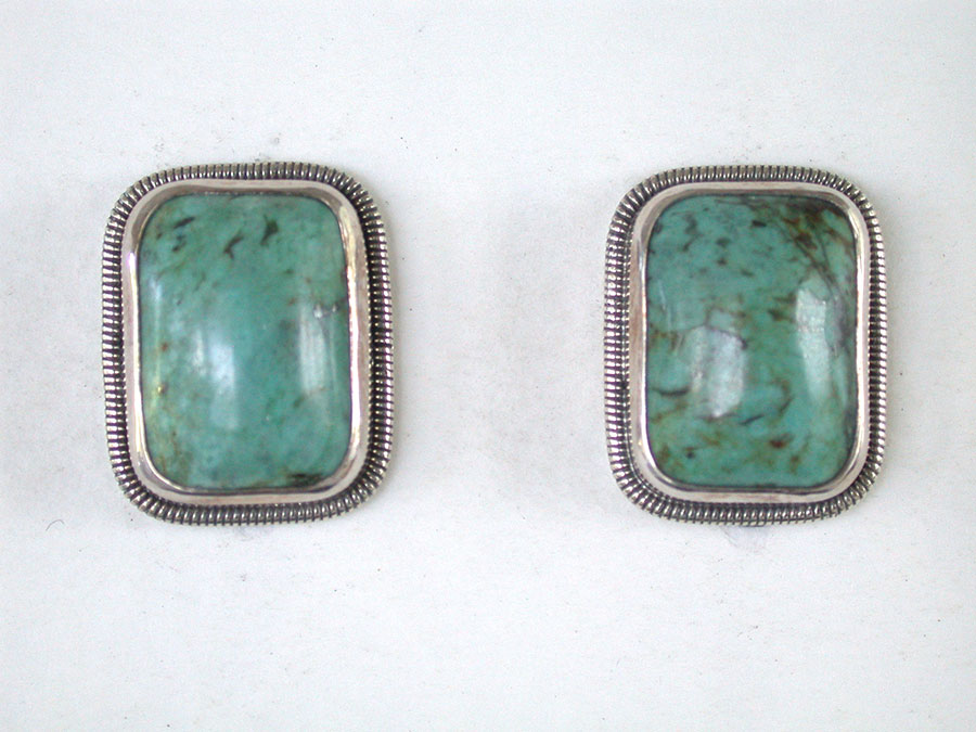 Amy Kahn Russell Online Trunk Show: Turquoise Clip | Rendezvous Gallery