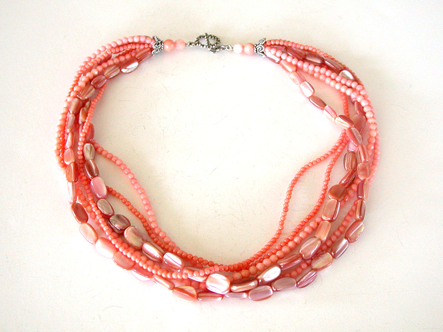 Amy Kahn Russell Online Trunk Show: Coral Necklace | Rendezvous Gallery