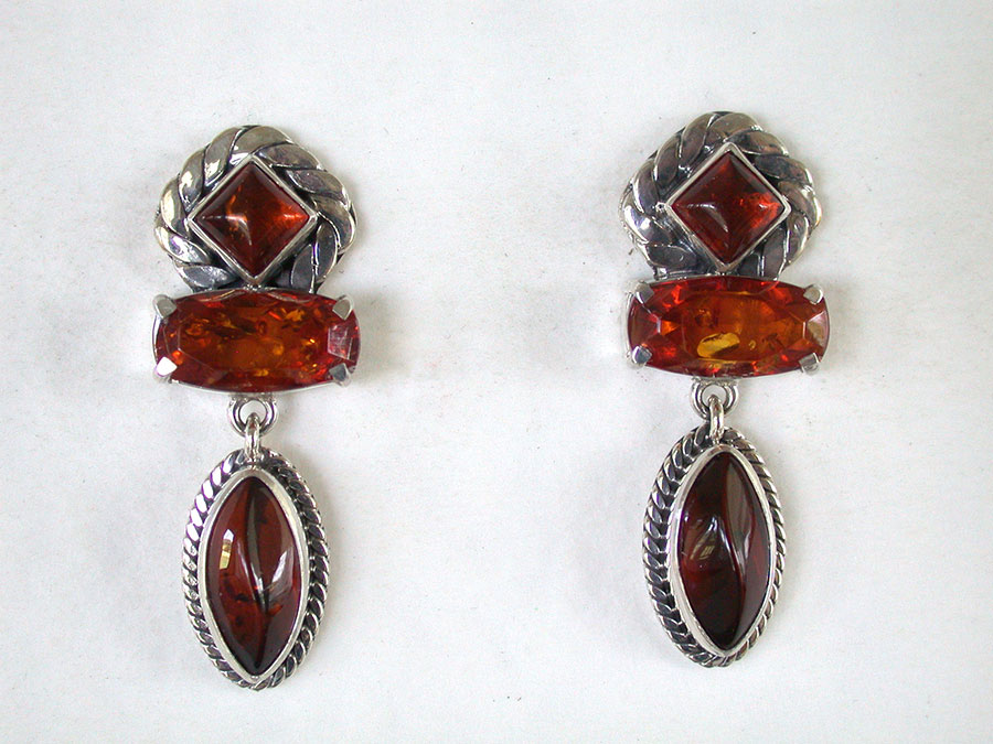 Amy Kahn Russell Online Trunk Show: Amber Post Earrings | Rendezvous Gallery