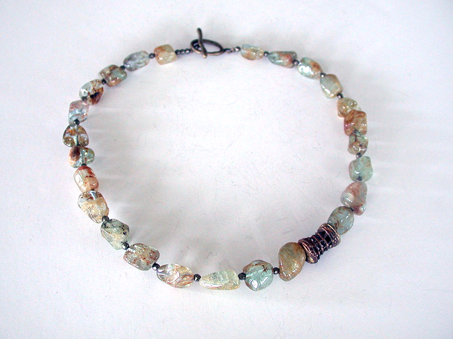 Amy Kahn Russell Online Trunk Show: Agate Necklace | Rendezvous Gallery