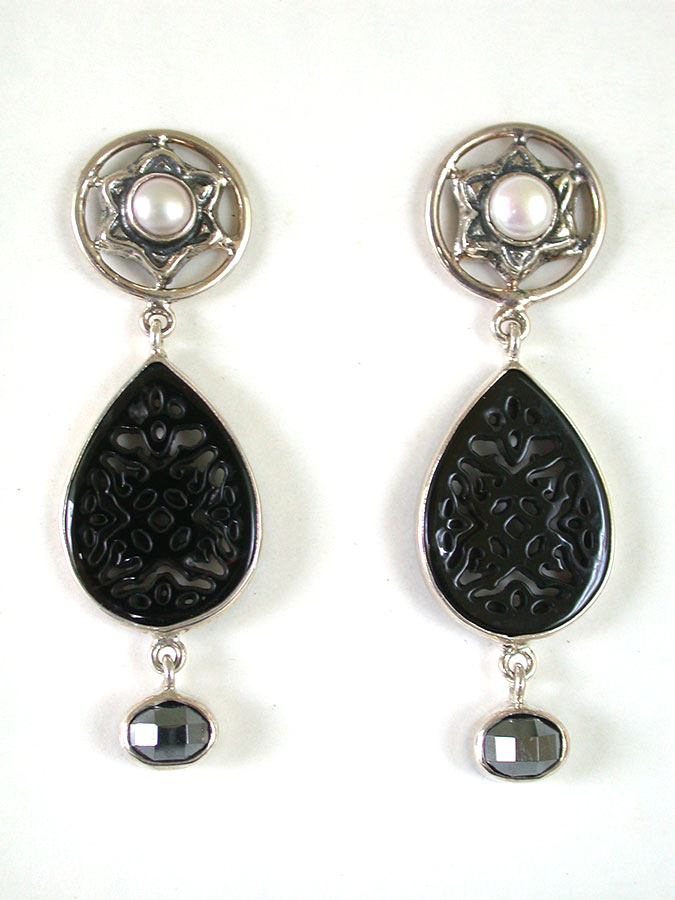 Amy Kahn Russell Online Trunk Show: Antique Coin & Pyrite Earrings | Rendezvous Gallery