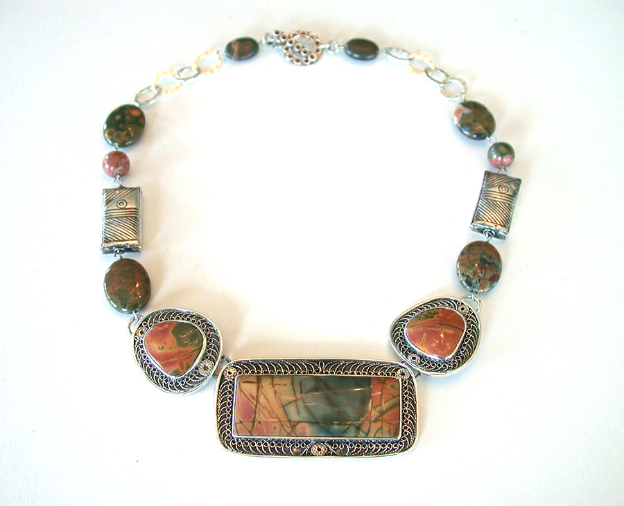 Amy Kahn Russell Online Trunk Show: Jasper Necklace | Rendezvous Gallery