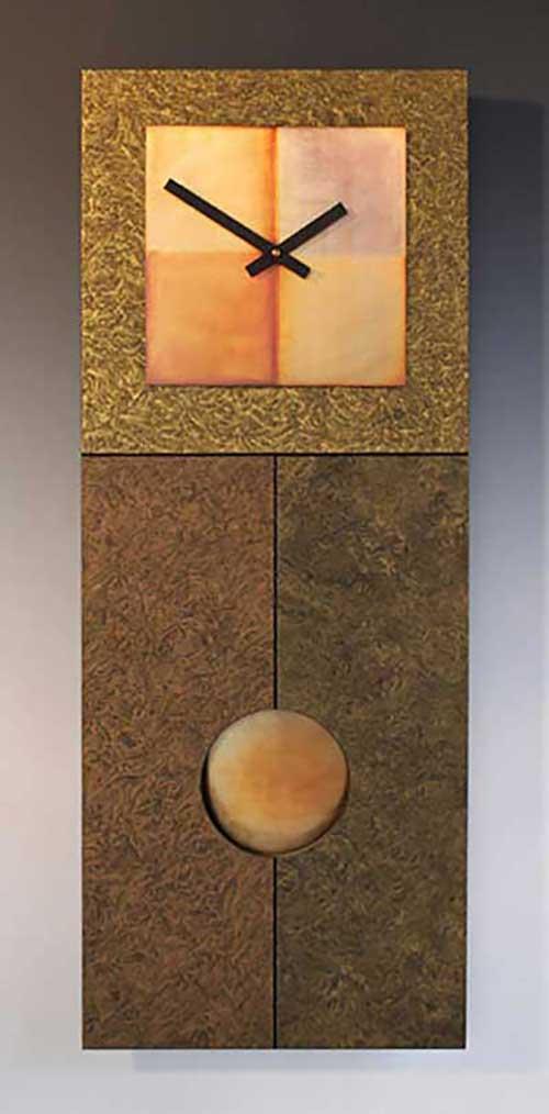 Leonie Lacouette Jane Gold Pendulum Wall Clock
