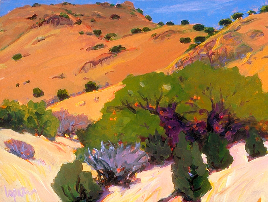 Carol Lopatin: Limpia Canyon Emory Oaks | Rendezvous Gallery