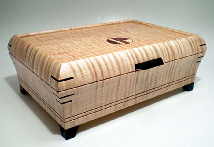 Mikutowski Woodworking:  Sculpted Jewelry Box | Rendezvous Gallery