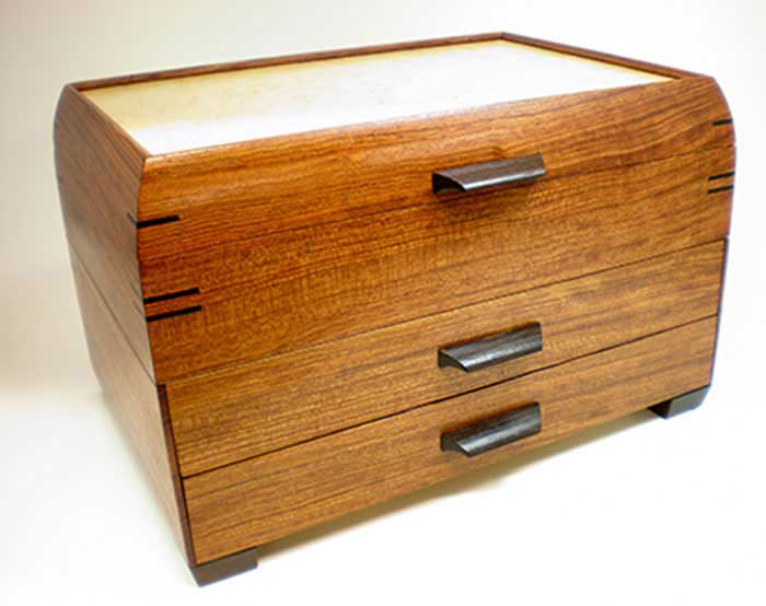 Mikutowski Woodworking: One Drawer Jewelry Chest | Rendezvous Gallery