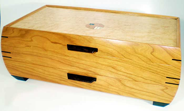 Grand Jewelry Chest by Mikutowski Woodworking | Rendezvous Gallery