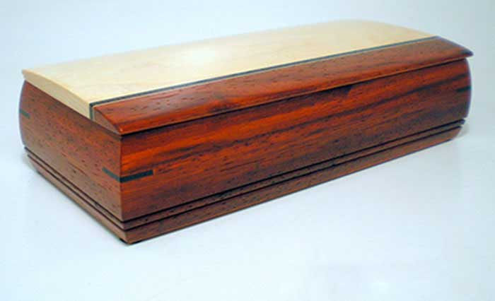 Mikutowski Woodworking: TV Remote Box | Rendezvous Gallery