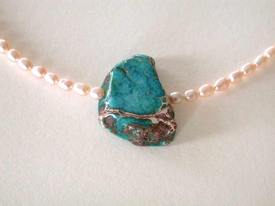 Nance Trueworthy: The Beach Necklace | Rendezvous Gallery