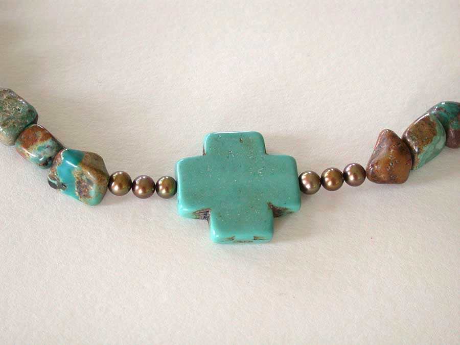 Nance Trueworthy: Turquoise Treat Necklace | Rendezvous Gallery