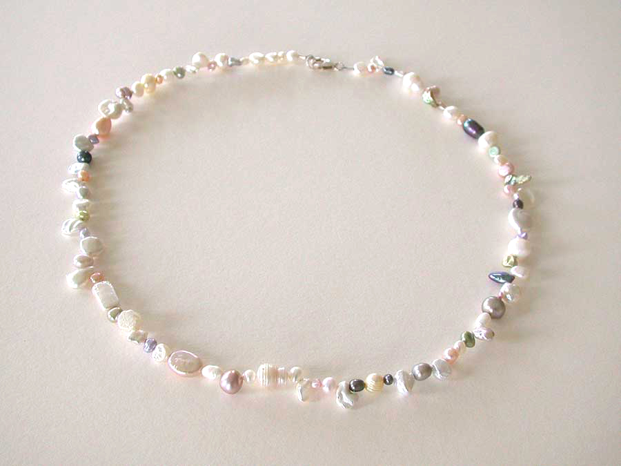 Nance Trueworthy: Confetti Pearl Delight Necklace | Rendezvous Gallery