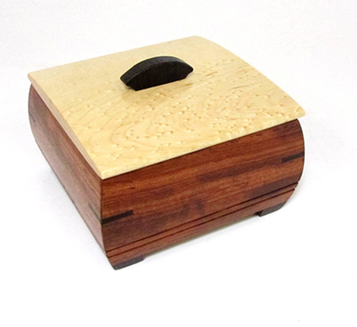 Gift Idea Under $100: Ring Box by Mikutowski Woodworking